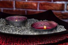 Промышленные свечи Стоковая Фотография