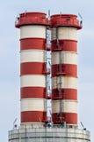 промышленные стога дыма Стоковые Изображения RF
