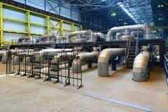 промышленные трубопровода Стоковое Изображение