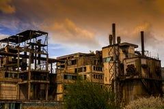 Промышленный ландшафт Стоковые Фотографии RF