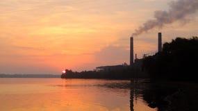 промышленный ландшафт Стоковая Фотография