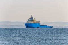 Промышленный грузовой корабль Стоковое Изображение RF
