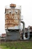 Промышленный деревянный завод для обрабатывать тимберса Стоковое Изображение RF