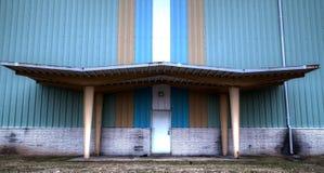 Промышленный комплекс закрытый из-за кризиса Стоковые Фотографии RF