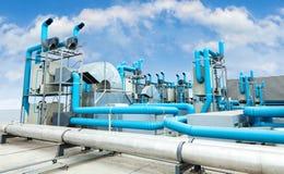 Промышленный кондиционер воздуха Стоковое Изображение