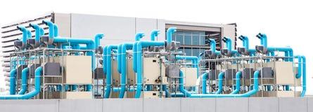 Промышленный кондиционер воздуха Стоковые Фото