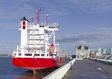 Промышленный корабль стоковая фотография rf