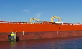 Промышленный корабль стоковые изображения rf