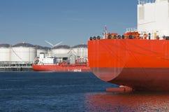Промышленный корабль стоковые фотографии rf