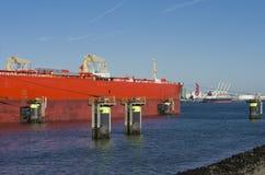 Промышленный корабль стоковое изображение