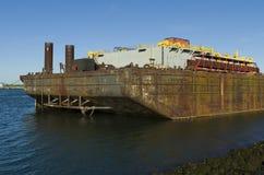 Промышленный корабль стоковая фотография