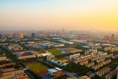 Промышленный парк Сучжоу, Сучжоу Стоковые Изображения RF