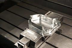 Промышленный пробел прессформы металла. Технология CNC. стоковые изображения rf
