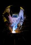 Промышленный работник Стоковое Фото