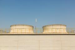 Промышленный стояк водяного охлаждения Стоковые Фотографии RF