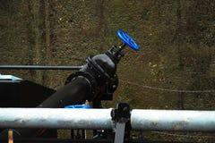 промышленный тубопровод Стоковая Фотография