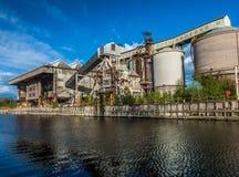 Промышленный химический завод Стоковое фото RF