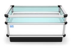 Промышленный холодильник горизонтальный иллюстрация штока