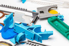 Проницательность в положение полиграфической промышленности 3d где промышленные принтеры заменены малыми принтерами fdm Стоковое Изображение