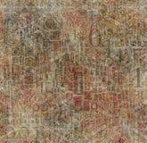 пронумерованная текстура Стоковые Фото