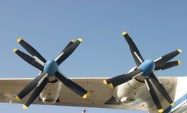 пропеллеры turbo Стоковые Фото