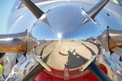 пропеллер крупного плана Стоковое Изображение RF