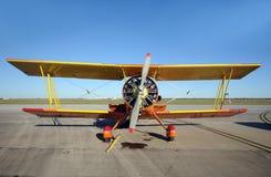 пропеллер самолета старый Стоковое фото RF