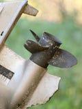 пропеллер шлюпки стоковое изображение