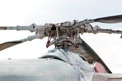 Пропеллер вертолета Стоковая Фотография