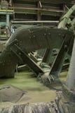 Пропеллер винта на химической фабрике Стоковое Изображение RF