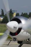 Пропеллер легкого воздушного судна Стоковые Изображения RF