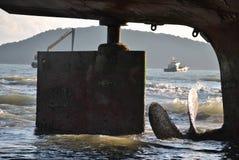 Пропеллер корабля Стоковая Фотография RF
