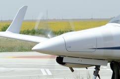 Пропеллер самолета Стоковое фото RF