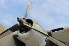 Пропеллер старого воздушного судна Стоковая Фотография