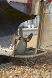 Пропеллер шлюпки металла Стоковая Фотография RF