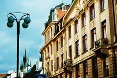 прописная чехословакская республика prague Стоковая Фотография