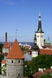 прописная эстония tallinn стоковые фото