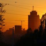 прописное kyiv Украина Стоковые Изображения RF