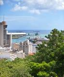 прописной порт louis Маврикия Стоковые Фотографии RF