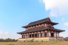 прописно Япония - место всемирного наследия ЮНЕСКО стоковые изображения