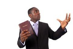 проповедник человека Стоковые Фото