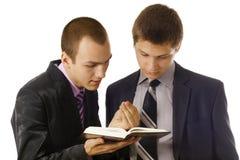 проповедовать Евангелия Стоковое Изображение