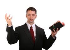 проповедуя слово Стоковая Фотография