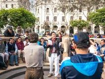 Проповедник Сан Мартина стоковые фотографии rf