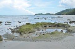 Пропускает на пляже Стоковое Изображение RF