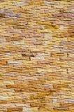 Пропускать вниз с воды на кирпичной стене Стоковые Изображения RF