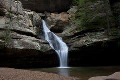 пропуская водопад Стоковое Фото