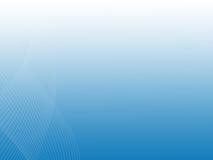 Пропуская линии на голубой предпосылке Стоковое Изображение