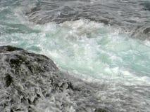 Пропуская морская вода стоковое фото rf