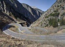 пропуск горы Стоковые Изображения RF